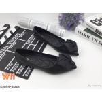 รองเท้าคัทชู ส้นแบน แต่งดอกไม้สวยหวาน หนังนิ่ม ใส่สบาย ทรงสวย แมทสวยได้ทุกชุด (K5054)