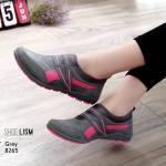 รองเท้าผ้าใบแฟชั่น ทรงสวยเพรียวลายสวยเท่ห์ นุ่มและใส่สบาย วัสดุผ้ายืดอย่างดีนิ่มยืดหยุ่น ใส่เดิน วิ่ง ปั่นจักรยาน หรือลำลองได้หมด ดูเท้าเล็กเรียวกระชับ แมทสวยได้ทุกชุด (8265)