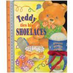 teddy shoelaces -Board Book
