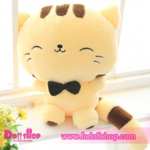 ตุ๊กตาแมว 0.6 เมตร (สีเหลือง)
