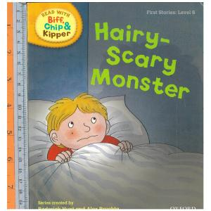 Hairy-scary monster (first story level 6)