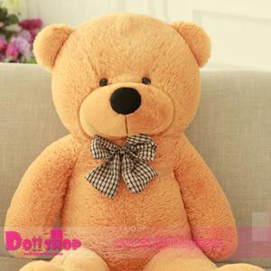 ตุ๊กตาหมียิ้ม Light brown 1.4 เมตร