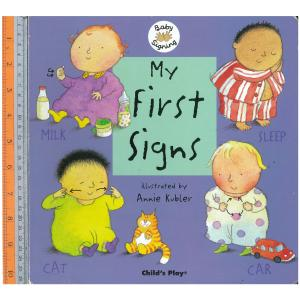 my first sign -Board Book