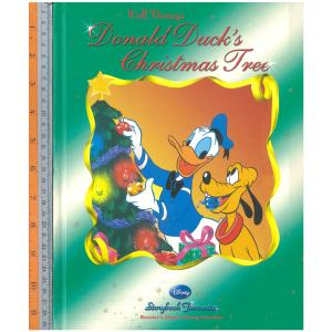 Donald duck's christmas tree