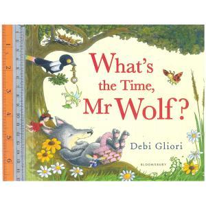 what time wolf -นิทานปกอ่อน