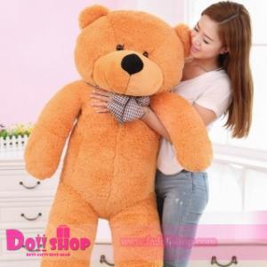 ตุ๊กตาหมียิ้ม light brown 1.6 เมตร