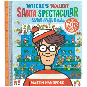 wally santa -ปกอ่อน ,stickers