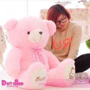 ตุ๊กตาหมีอ้วน Pink 1.4 เมตร