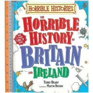 horrible histories britain -ปกแข็ง