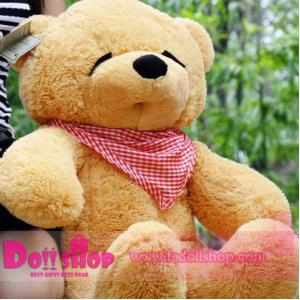ตุ๊กตาหมีหลับ light brown 0.8 เมตร