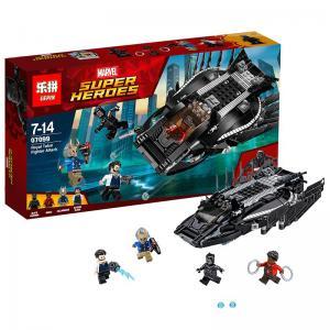 เลโก้จีน LEPIN.07099 ชุด Black Panther Royal Talon Fighter Attack