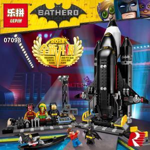 เลโก้จีน LEPIN.07098 ชุด The Bat-Space Shuttle