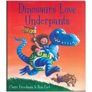 Dino love underpants