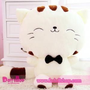 ตุ๊กตาแมว 0.6 เมตร (สีขาว)
