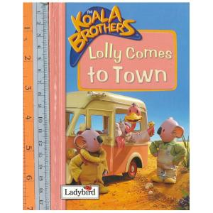 Lolly comes to town -ปกแข็ง