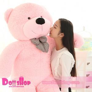 ตุ๊กตาหมียิ้ม pink 1.6 เมตร