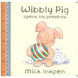 wibbly pig presents -Board Book