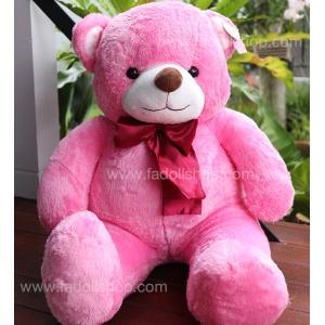 ตุ๊กตาหมีเบบี้สีชมพู 100 เซนติเมตร
