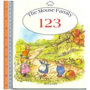 123 mouse -นิทานปกแข็ง