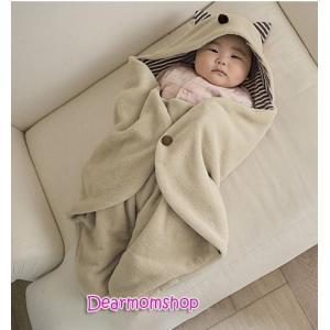 ผ้าห่มห่อตัวเด็กรูปสัตว์น่ารัก