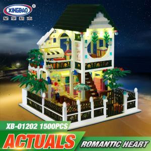 เลโก้จีน XB.01202 ชุด Romantic Heart (มีไฟ)