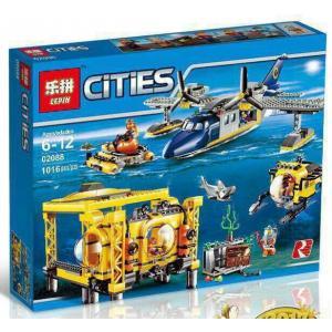 เลโก้จีน LEPIN.02088 ชุด City Deep Sea Operation Base