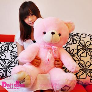ตุ๊กตาหมีอ้วน Pink 1.0 เมตร