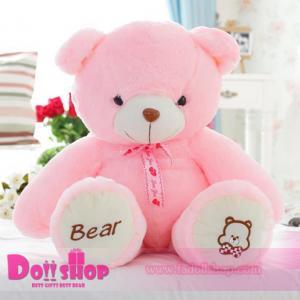 ตุ๊กตาหมีอ้วน Pink 0.8 เมตร