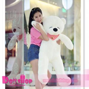 ตุ๊กตาหมีหลับ white 1.2 เมตร