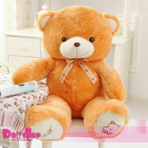 ตุ๊กตาหมีอ้วน Light Brown 1.0 เมตร