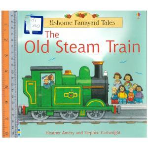 old steam train -นิทานปกอ่อน