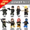 เลโก้จีน POGO.322-329 ชุด Super Heroes (สินค้ามือ 1 ไม่มีกล่อง)