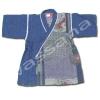 เสื้อจิมเบอิ สีน้ำเงิน ลายดอกเบญจมาศ S100