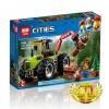 เลโก้จีน LEPIN.02092 ชุด City Forest Tractor