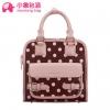 {พร้อมส่ง} กระเป๋า xiaoxiang ของแท้ 100% ผลิตจากหนัง pu ลายดอทอย่างดี มาพร้อมสายสะพายข้าง มีช่องใส่ของเยอะดีคะ โทนสีน่ารักน้ำตาลและชมพูคะ