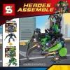 เลโก้จีน SY.248 A-B ชุด Heroes Assemble
