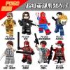 เลโก้จีน POGO.258-265 ชุด Super Heroes (สินค้ามือ 1 ไม่มีกล่อง)