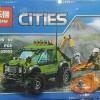 เลโก้จีน LEPIN.02002 ชุด Volcano Exploration Truck