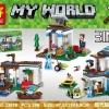 เลโก้จีน LELE.33078 ชุด Minecraft 3in1
