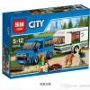 เลโก้จีน LEPIN.02048 ชุด City Van & Caravan