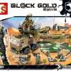 เลโก้จีน Sembo.11716 ชุด Block Gold