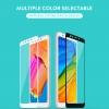 Xiaomi Redmi 5 Plus ฟิล์มกระจกนิรภัยเต็มจอ 9H+ (ขอบสี)