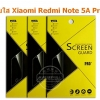Xiaomi Redmi Note 5A Prime ฟิล์มกันรอยขีดข่วน แบบใส