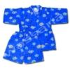 ชุดจิมเบอิ สีน้ำเงิน ลายปู S120