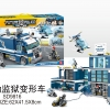 เลโก้จีน SD.9816 ชุด Future Police Mobile Jail (รถแปลงเป็นคุกเคลื่อนที่)