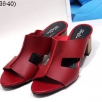 รองเท้าแฟชั่น แบบสวม หนังนิ่มดีไซน์หน้า H เรียบเก๋ดูดี ทรงสวยเก็บเท้าเรียว ส้นสูงประมาณ 2.5 นิ้ว ใส่สบาย แมทสวยได้ทุกชุด