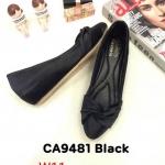 รองเท้าคัทชู ส้นเตารีด แต่งโบว์ด้านหน้าสวยเก๋ หนังนิ่ม ทรงสวย ส้นสูงประมาณ 2 นิ้ว ใส่สบาย แมทสวยได้ทุกชุด (CA9481)