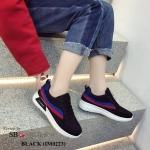 รองเท้าผ้าใบแฟชั่น แต่งลายสวยเก๋สไตล์เกาหลี วัสดุอย่างดี ทรงสวย พื้นยางยืดหยุ่น ใส่สบาย ใส่เที่ยว ออกกำลังกาย แมทสวยเท่ห์ได้ทุกชุด