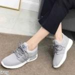 รองเท้าผ้าใบแฟชั่น สวยเก๋สไตล์เกาหลี วัสดุอย่างดี ทรงสวย ใส่สบาย ใส่เที่ยว ออกกำลังกาย แมทสวยเท่ห์ได้ทุกชุด (6615)