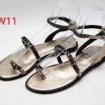 รองเท้าแตะแฟชั่น รัดข้อ แบบสวมนิ้วโป้ง แต่งโซ่สวยเก๋สไตล์จีวองชี พื้นนิ่ม วัสดุอย่างดี ใส่สบาย แมทสวยได้ทุกชุด